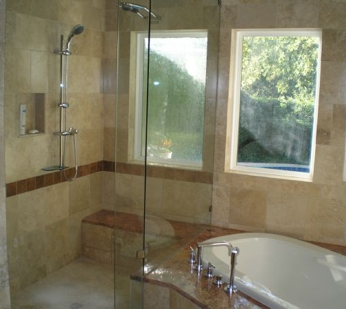 Bathroom remodeling paul shoenberger plumbing heating gc for Plumbers bathroom renovations